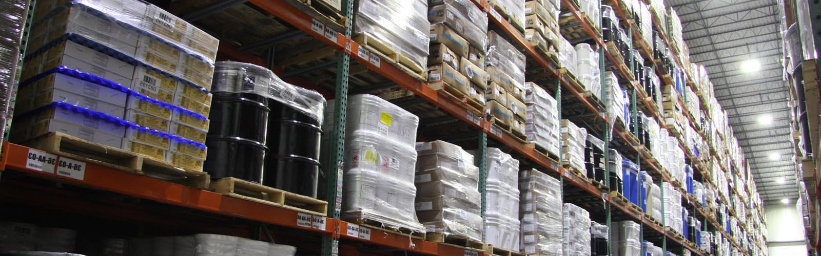 Multi-temperature Refrigerated Warehouse